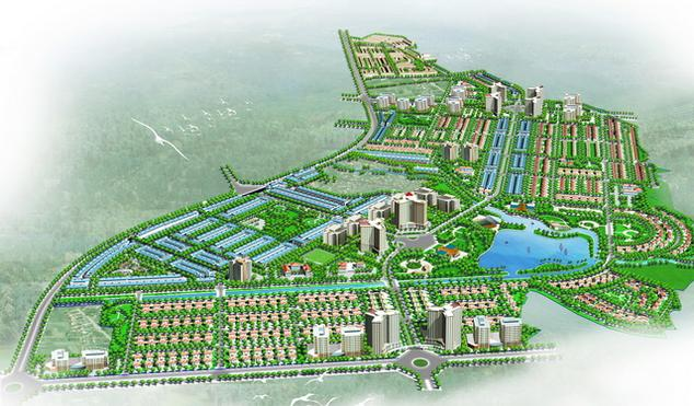 Dự án khu đô thị mới Tân Lập - Hà Nội