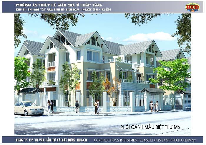 biệt thự TT3A Tây Nam Linh đàm