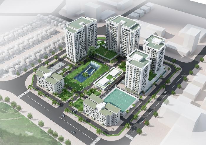 chung cư GH5,GH6 Green House Việt Hưng