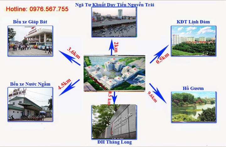 Phân Phối Chung cư D2CT2 Tây Nam Linh Đàm
