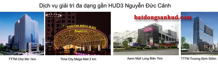 Tiện ích Chung cư HUD3 Nguyễn Đức Cảnh