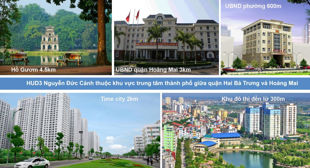 Dự án Chung cư HUD3 Nguyễn Đức Cảnh