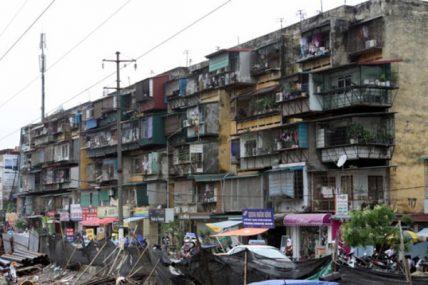Sẽ ưu đãi thuế cho doanh nghiệp cải tạo chung cư cũ