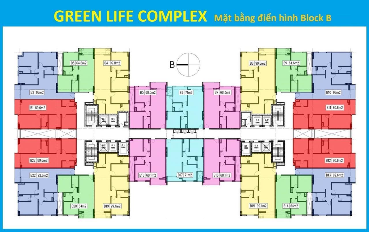 Chung cư Green Life Complex 176 Định Công