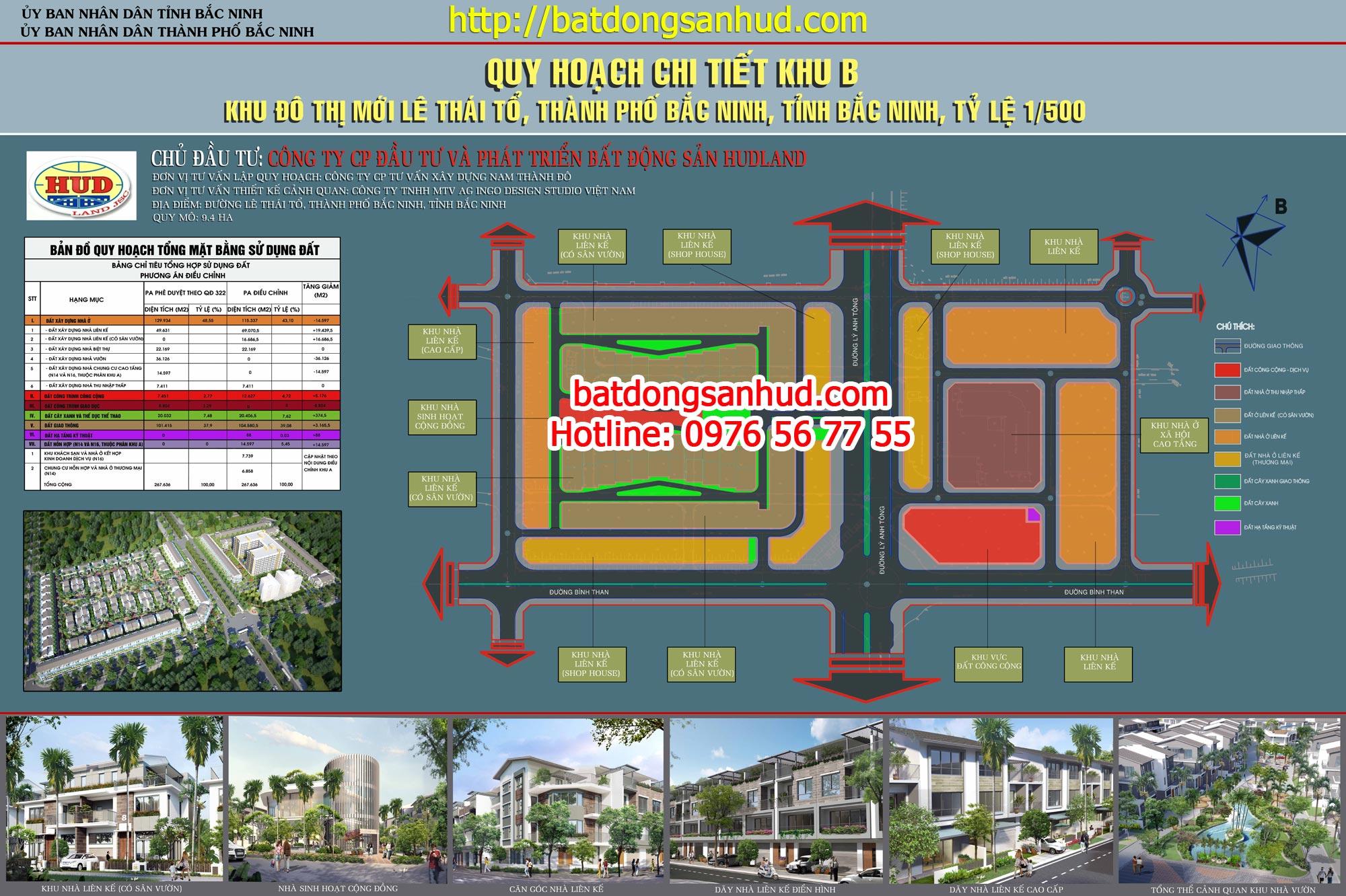 Dự án Bắc Ninh - HUDLAND