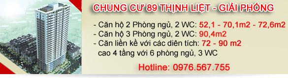 Chung cư 89 Thịnh Liệt