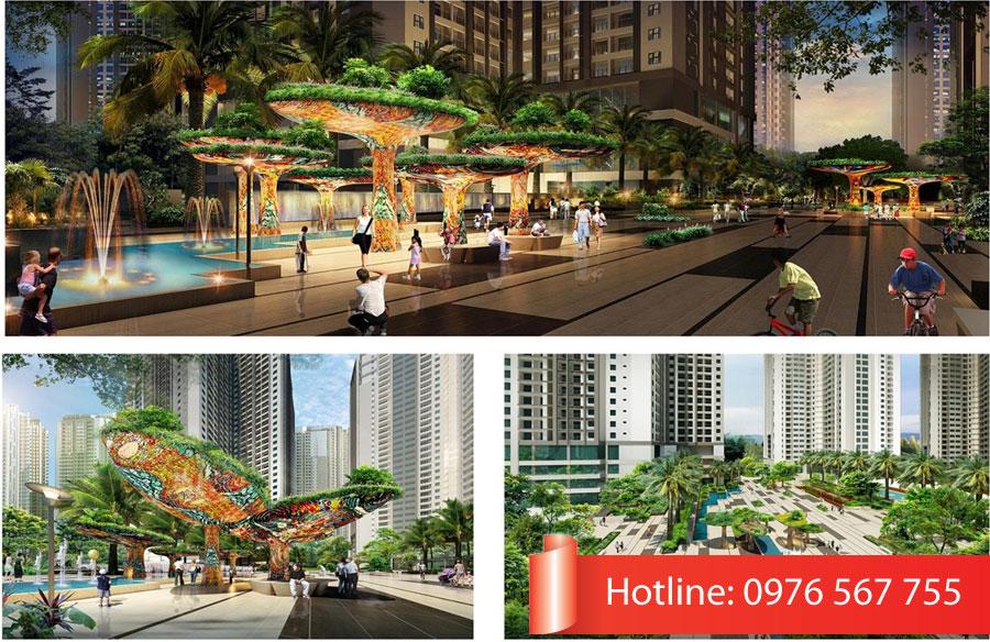 Tiện ích vượt trội của dự án chung cư E2 Yên Hòa