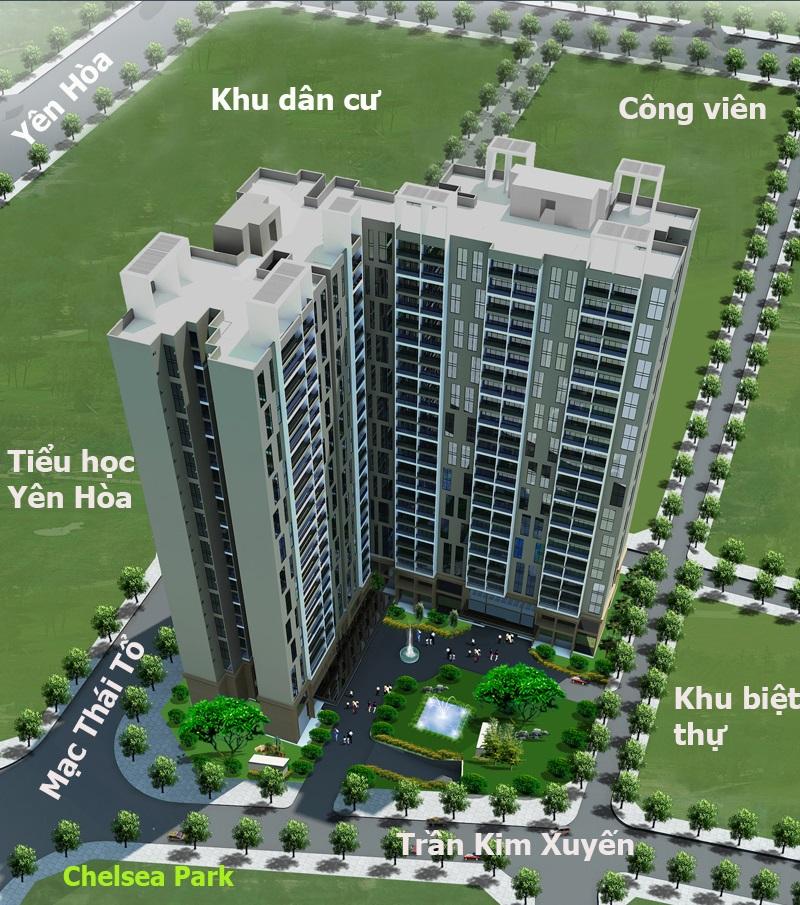 Chung cư E2 Trần Kim Xuyến - Yên Hoà - Cầu Giấy