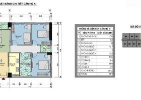 Phân phối chung cư CT3 tây nam linh đàm – Diện tích 88 m2
