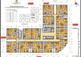 Bán căn hộ chung cư Rainbow Linh đàm 3 phòng ngủ. 1.6 tỷ/căn
