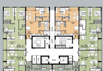 Bán căn hộ 96m2 chung cư D1CT2 hud8 Tây nam linh đàm