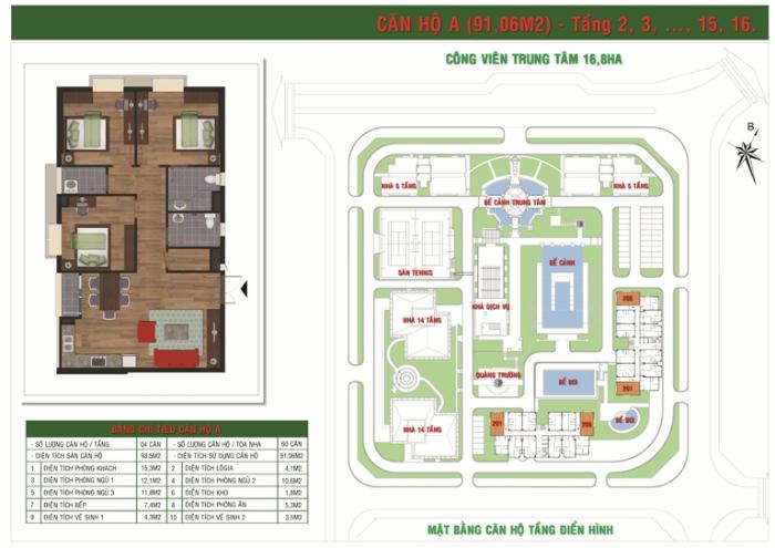 Căn Hộ Loại A Green House Việt Hưng Long Biên