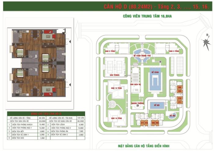 Căn Hộ Loại D Green House Việt Hưng Long Biên