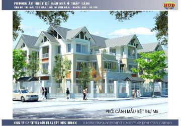 Bán biệt thự TT3A 280m2 Tây Nam Linh đàm