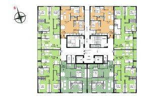 Danh sách Các căn chung cư D1CT2 Tây nam linh đàm chuyển nhượng