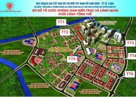 Bán biệt thự hướng tây TT3 tây nam Linh đàm