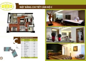 Bán căn hộ chung cư CT3 tây nam linh đàm hướng Tây Bắc giá cực rẻ