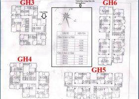 Mở bán chính thức chung cư GH5,GH6 Green House Việt Hưng