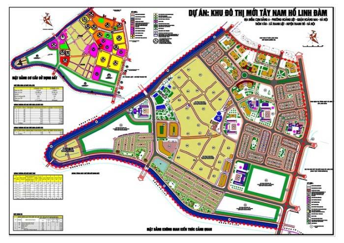 Bán Biệt thự TT3D ô 10,11 Tây Nam Linh Đàm