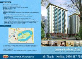 Bán căn hộ chung cư A1CT2 – Căn hộ tầng 8 DT 140m2