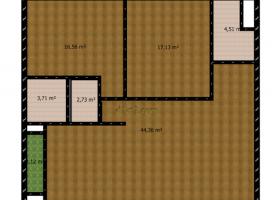 Thiết kế căn hộ B và B' 97,65 m2 chung cư D2CT2 Tây Nam Linh Đàm