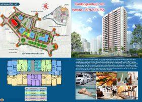 Chính thức bán căn hộ chung cư A1CT2 tây nam linh đàm
