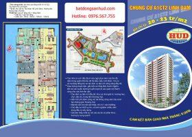 Chung cư A1CT2 bán căn hộ diện tích 76m2 hướng Đông Nam