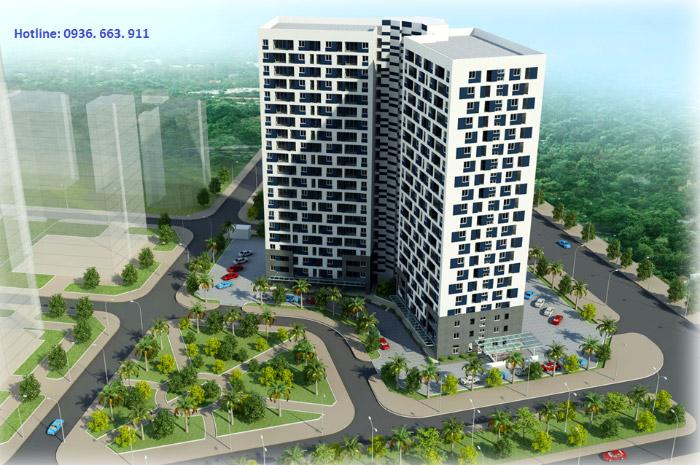 Chung cư CT3 Tây Nam Linh Đàm