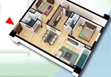 Tôi cần bán căn hộ 85,5m2, hướng tây bắc chung cư D2CT2 tây nam linh đàm