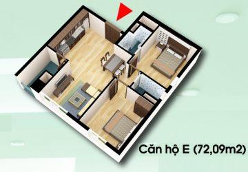 Bán căn hộ chung cư giá rẻ D2CT2 Tây nam hồ linh đàm