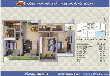 Bán căn hộ diện tích 140m2 chung cư A1CT2 Tây Nam Linh Đàm