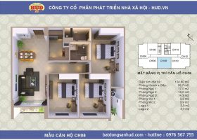 Bán căn hộ đẹp diện tích 112m2 chung cư A1CT2 Tây Nam Linh Đàm giá rẻ