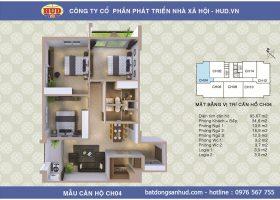 Phân phối độc quyền chung cư A1CT2 Tây Nam Linh Đàm giá rẻ