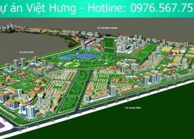 Tổng quan dự án Khu đô thị mới Việt Hưng