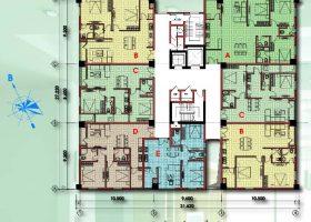 Chung cư D2CT2 Tây Nam Linh đàm căn hộ 2 phòng ngủ