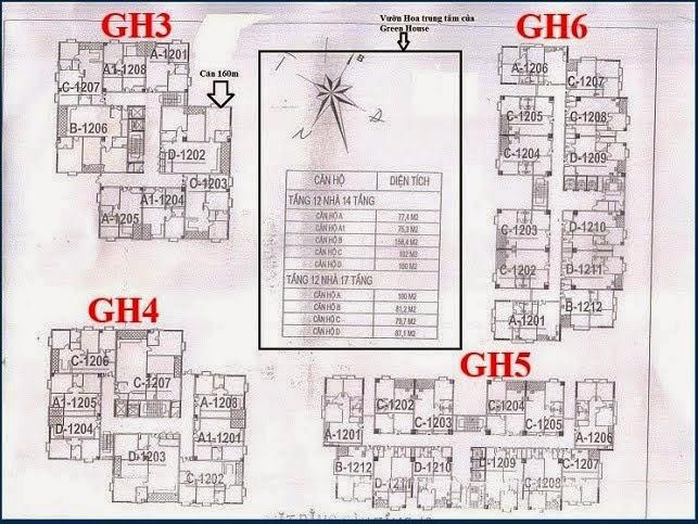 Chung cư Green House Việt Hưng tòa GH5, GH6, Full Nội thất giá rẻ