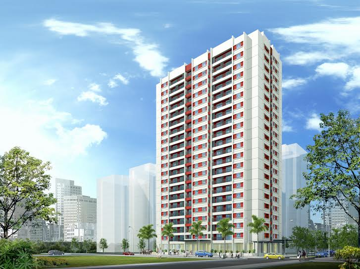 Chung cư CT2-A1 Tây nam Linh Đàm