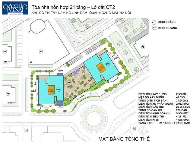 Bán căn hộ dự án chung cư B1B2 CT2 tây nam linh đàm