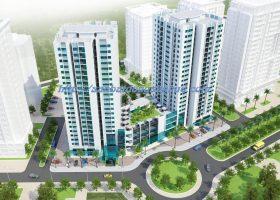 Bán sàn trung tâm thương mại chung cư B1CT2 và B2CT2 tây nam Linh Đàm 3000m2