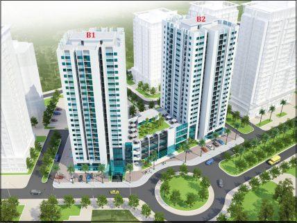 Chung cư B1B2 CT2 tây nam Linh Đàm
