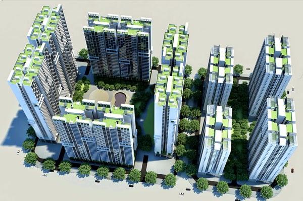 Dự án chung cư A10 A14 Nam Trung Yên