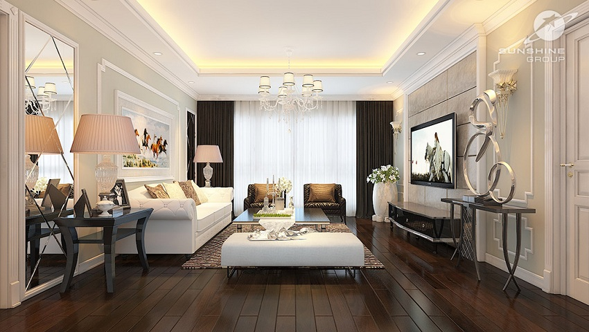 Mặt bằng căn hộ chung cư 176 Định Công