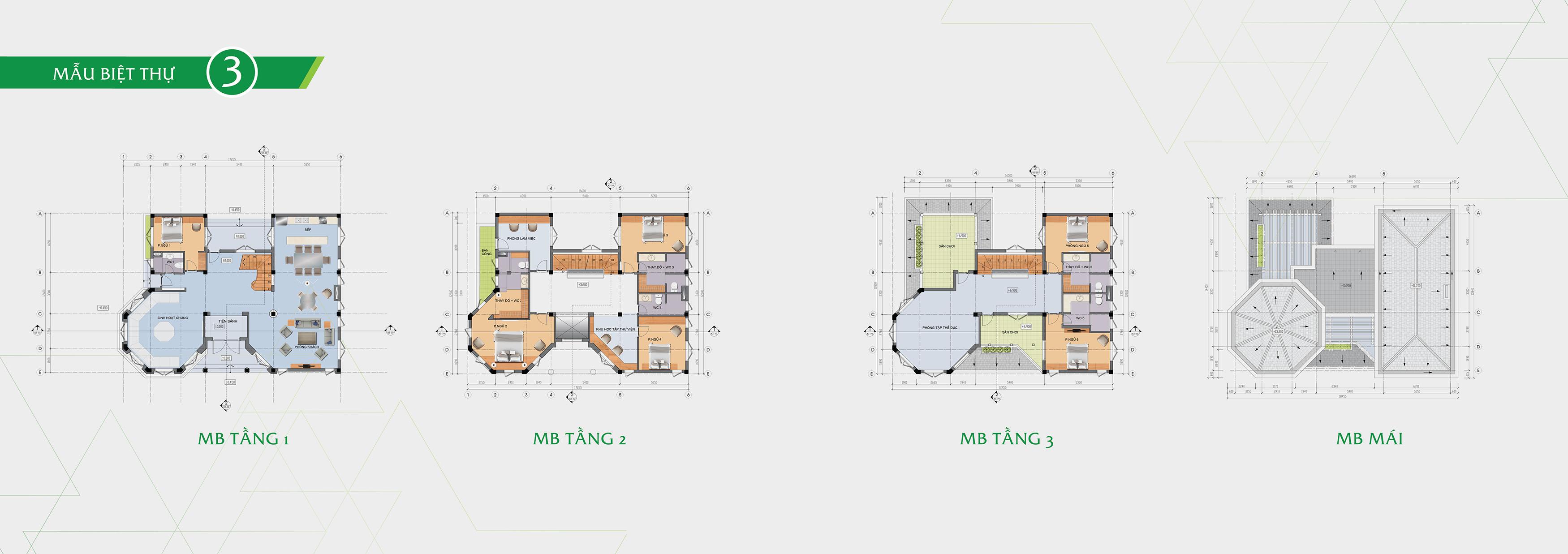 Thiết kế chi tiết Tây Mỗ Residence