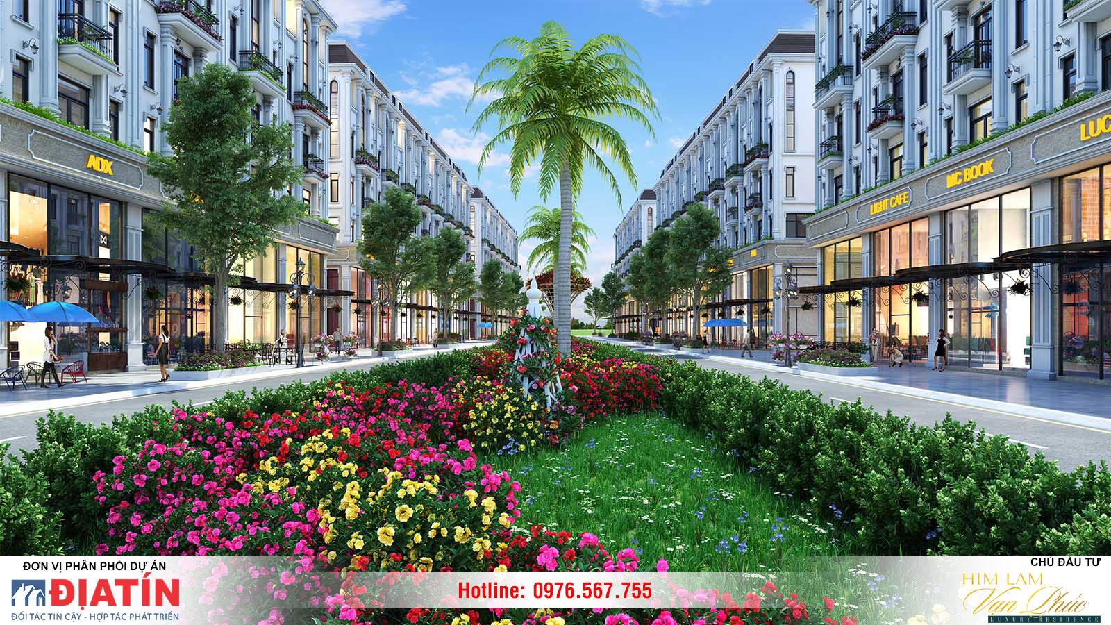 Thiết kế dự án Him Lam Vạn Phúc
