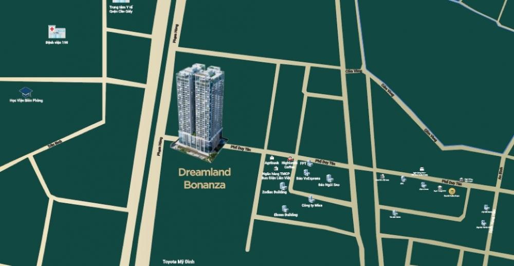 Vị trí dự án Dreamland Bonanza