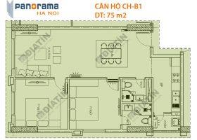 Bán căn hộ Tòa CT1B Panorama Hoàng Văn Thụ