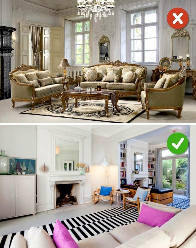Kết hợp các phong cách nội thất khác nhau
