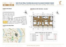 Bán căn 3 phòng ngủ 92.6 m2 chung cư đường Kim Đồng, Cao Bằng