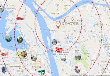 Vị trí dự án Rice City Long Biên