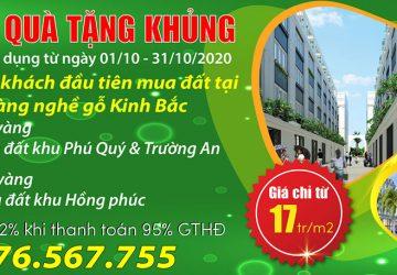 Chiết khấu lớn nhất cho dự án Bảo Long New City từ ngày 01/10/2020 đến 31/10/202